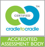 Accredited Assessment body - Zeichen für akkreditierte Cradle to Cradle Gutachter